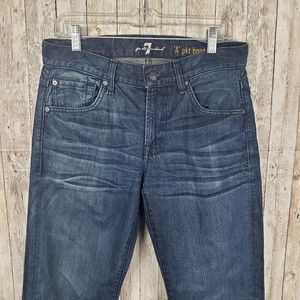 "7 For All Mankind ""A"" Pkt  Bootcut Jean Sz 30"